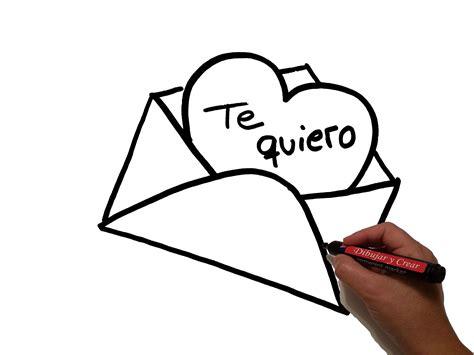 imagenes de amor para dibujar en una carta como dibujar carta de amor how to draw love letter