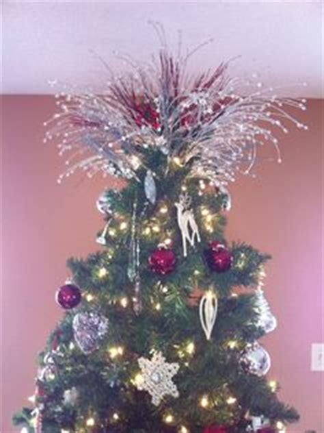 large firework effect christmas tree topper 1000 images about tree topper on tree toppers tree toppers and