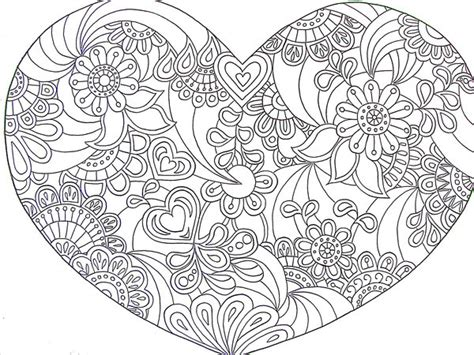 heart doodle coloring page coloring pages on pinterest coloring pages dover
