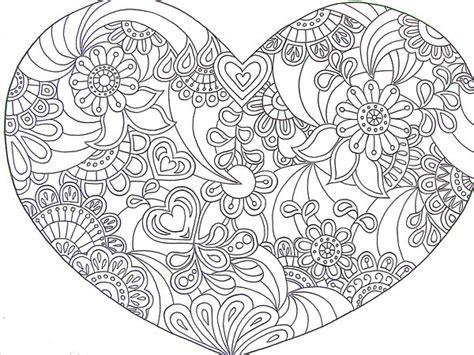 paisley heart coloring page paisley colors google image heart zentangle doodle