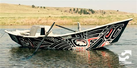 drift boat llc trout unlimited drift boat wrap 183 scs wraps