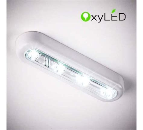 oxyled t 01 diy stick on anywhere 4 led touch tap light