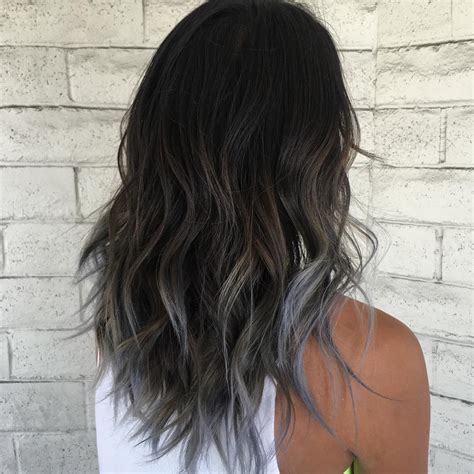 grey ombre hair dye to try this fall smoky gray ombre hair
