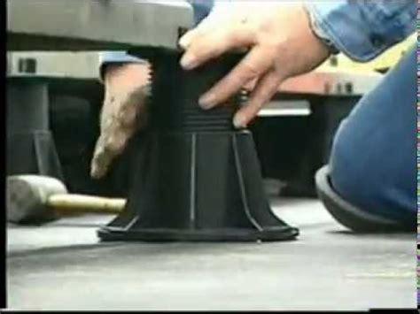 Paver Pedestals Roof Paver And Deck Pedestal With Westile Paver Amp Bison