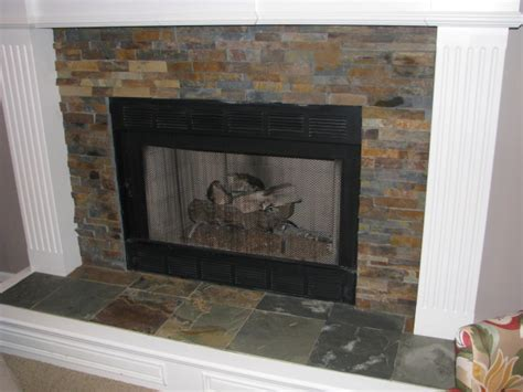 Slate Surround Fireplace by Service Gallery Dean The Granite