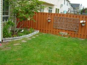 backyard fence ideas pictures marceladick