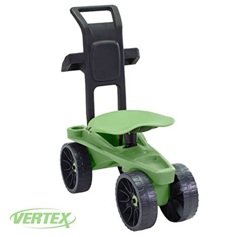 garden scooter seat easy up deluxe xtv rolling seat and scoot gardening