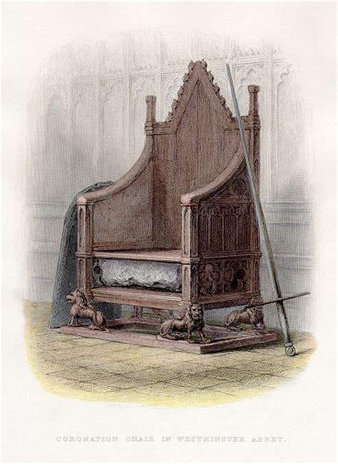 sedie medievali la sedia re edoardo la quot sedia dell incoronazione