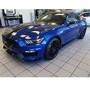 Brand New Shelby GT350 Lightning Blue With Navigation Leather Trimmed