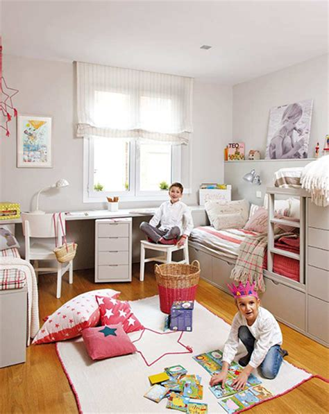 small shared bedroom home dzine bedrooms shared bedroom for young boy and girl