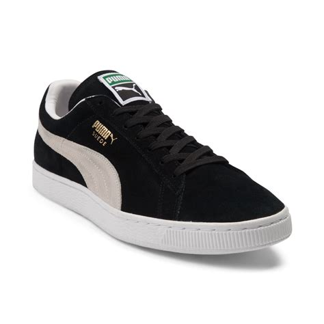 athletic shoes for mens suede athletic shoe black 361558
