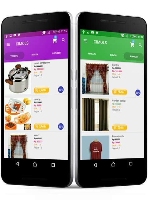 membuat aplikasi toko online berbasis android aplikasi toko online android profesional untuk jualan anda