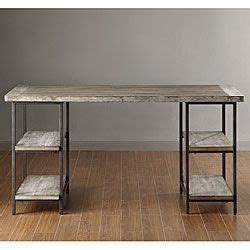 Tribecca Home Desk by Myra Vintage Industrial Modern Rustic Storage Desk By Tribecca Home By Tribecca Home