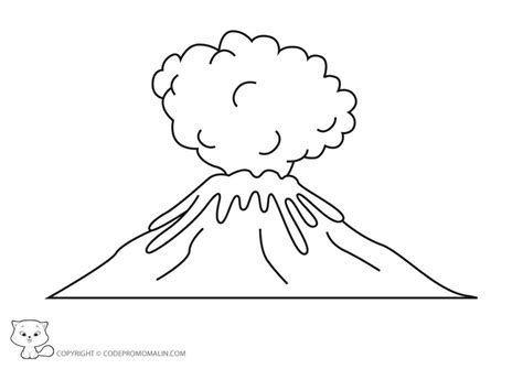 %name Good Colored Pencils   Volcano #8 (Nature) ? Printable coloring pages