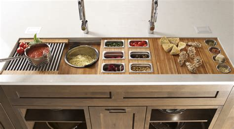 Kitchen Cabinets Inserts by Trough Sinks The Galley Leads In Innovation Ids2go