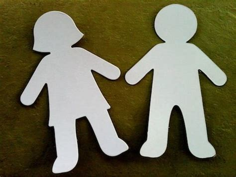 How To Make String Of Paper Dolls - best 25 paper doll chain ideas on on the doll