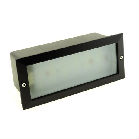Outdoor Led Recessed Lighting Modern White Led Outdoor Garden Recessed Brick Wall Light