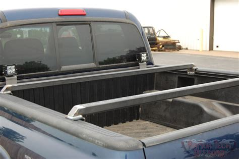 truck bed cross bars 2005 2015 tacoma 1 5 quot rise bed cross bar