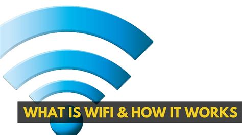 Wifi Wifi what is wifi how does it work what does wifi stand for