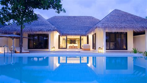 two bedroom pool villa at finolhu