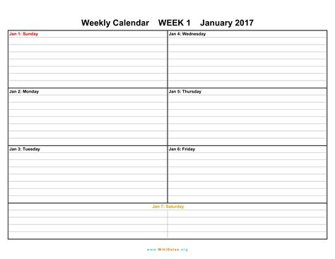 printable calendar 2017 by week weekly calendar download weekly calendar 2017 and 2018