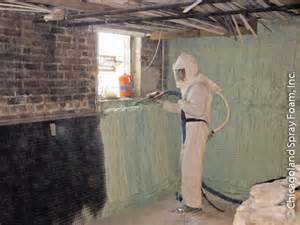 spray foam insulation for basement closed cell insulation basement waterproofing mold chicagoland spray foam