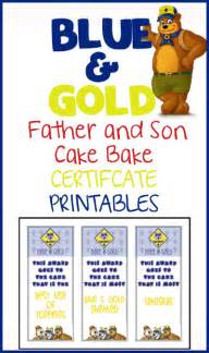 blue amp gold cake bake certificates over the big moon