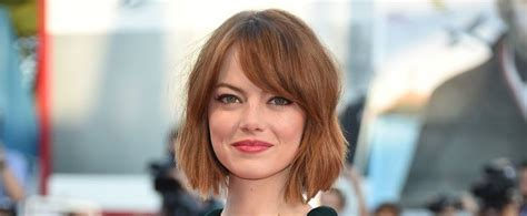 emma stone lob haircut red lob photos red lob images ravepad the place to