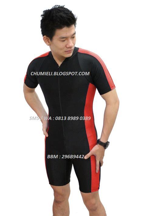 Baju Renang Anak Diving Panjang Merah Hitam Premium Edition jual baju renang diving pria dan wanita dewasa pendek