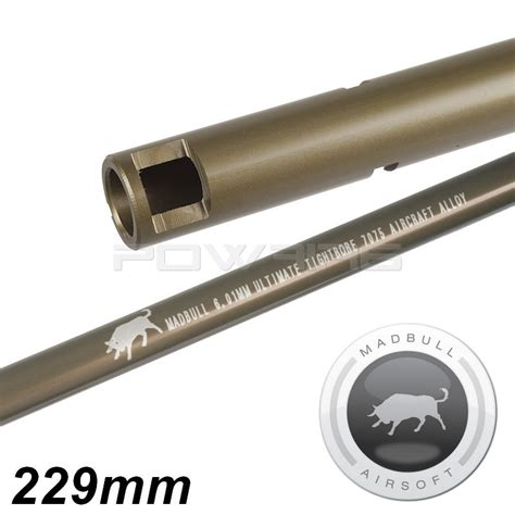 Madbull Ultimate 601 509mm madbull ultimate 6 01mm gen2 tight bore barrel 229mm mb ult229