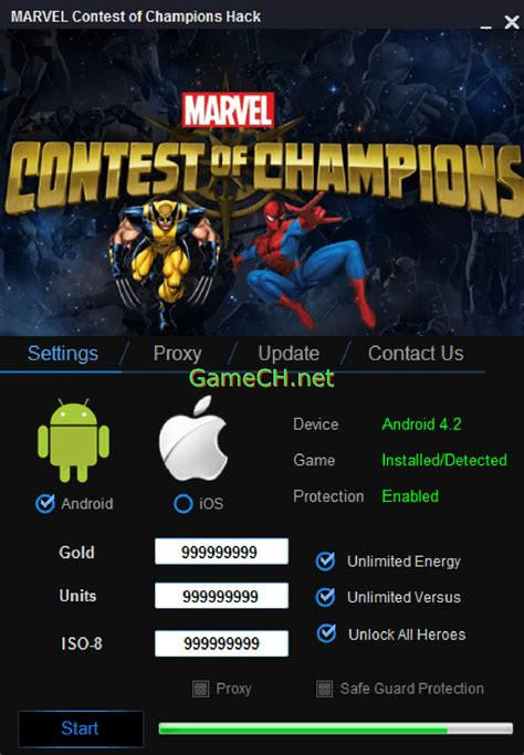 hacked apks marvel contest of chions hack cheats hacks and apks