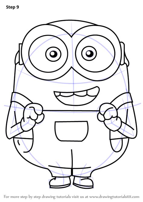 Bob Minion Drawing step by step how to draw bob from minions