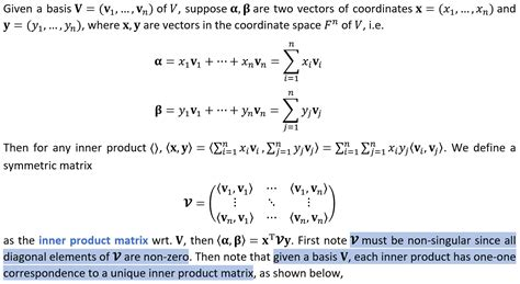 inner product orthonormal basis linear algebra for any inner product can we always find