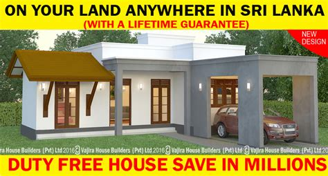 Ss 132 Vajira House Builders Private Limited Best Architectural House Plans Sri Lanka Small Land