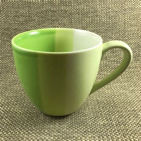 Starbucks Rabbit Mug 3 shades of green striped mug starbucks mug barista