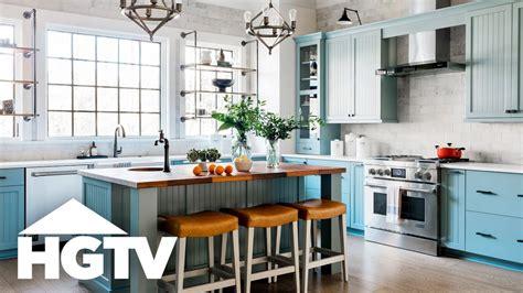 hgtv kitchen ideas 2018 hgtv smart home 2018 tour the kitchen
