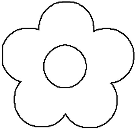 coloring pictures of flowers for preschoolers free flower coloring pages for kids coloring home