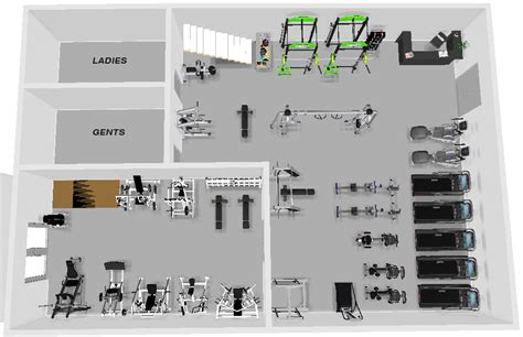 Gym Layout cashel 3d gym layout xtreme csc ireland