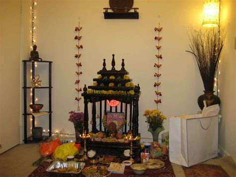 decoration of pooja room at home puja room design home mandir lamps doors vastu idols