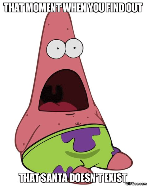 Funny Patrick Meme - surprised patrick