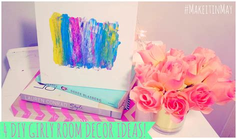 diy girly crafts c3 a2 c2 99 a5 4 diy girly room decor ideas makeitinmay