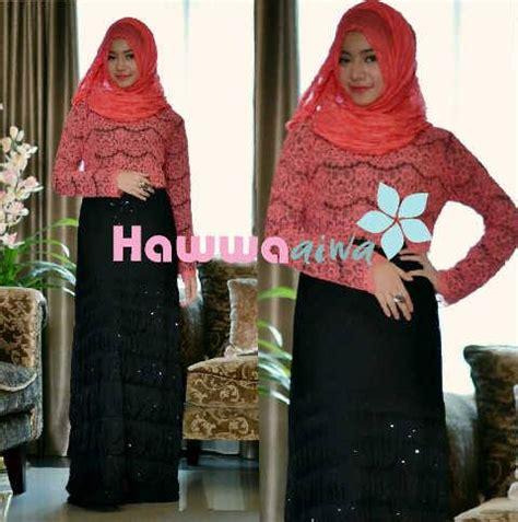 Imelda Muslim Gamis Syar I Ti21961 saphira vol 2 hitam baju muslim gamis modern