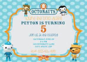 octonauts templates octonauts birthday digital printable invitation and thank