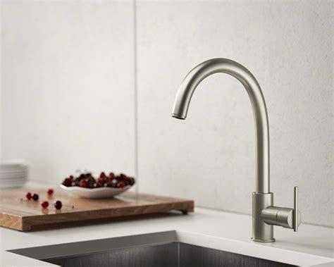 brushed nickel single handle kitchen faucet 711 bn brushed nickel single handle kitchen faucet