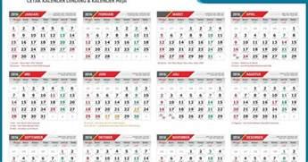 Calendar 2018 Indonesia Pdf Kalender 2017 Lengkap Hari Libur Nasional Dan Cuti Bersama