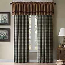 hadley curtain shop hadley plaid comforter collection bedbathandbeyond com