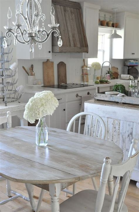 distressed kitchen furniture 32 shabby chic kitchen decor ideas to try shelterness