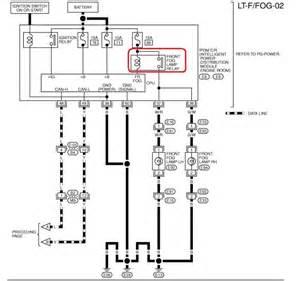 wiring diagram for 2008 nissan altima fog lights gallery