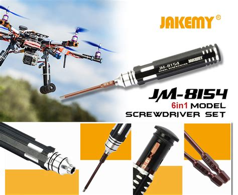 Jakemy 6 In 1 Screwdriver Kit Model Jm 8154 jakemy jm 8154 6in1 screwdriver set