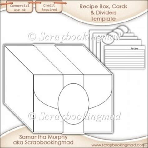 card divider template bgg recipe box cards dividers template cu ok 163 3 50